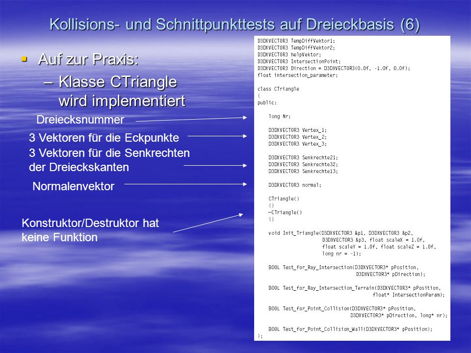 Kollisions- und Schnittpunkttests auf Dreieckbasis (6)