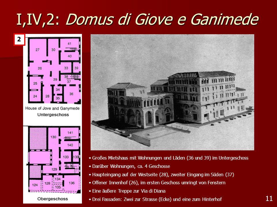 I,IV,2: Domus di Giove e Ganimede