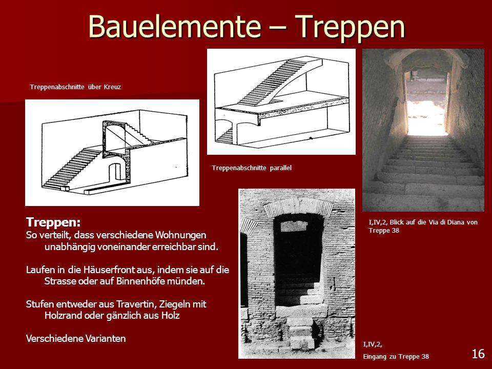Bauelemente – Treppen Treppen: 16