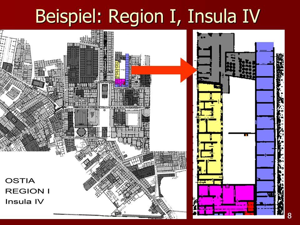 Beispiel: Region I, Insula IV