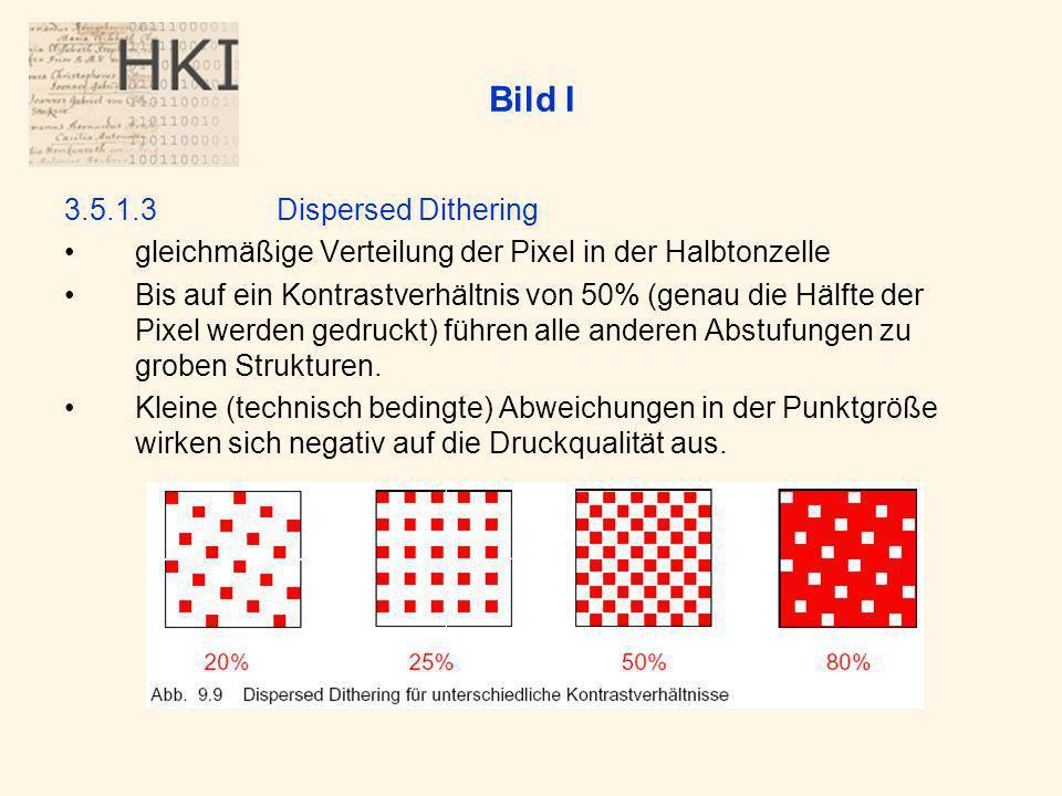 Bild I 3.5.1.3 Dispersed Dithering