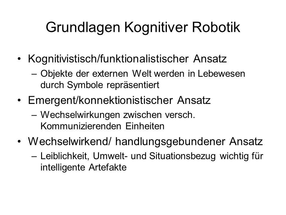 Grundlagen Kognitiver Robotik