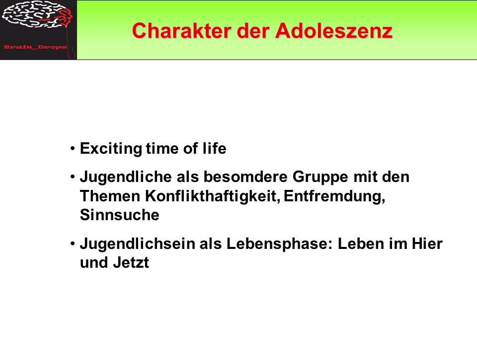 Charakter der Adoleszenz