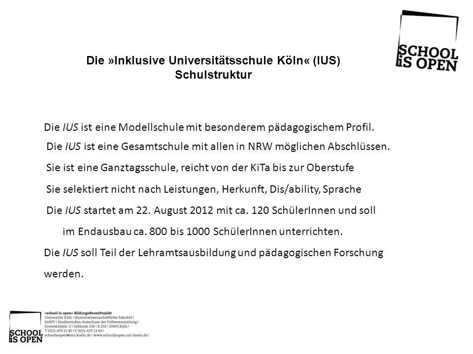 Die »Inklusive Universitätsschule Köln« (IUS)