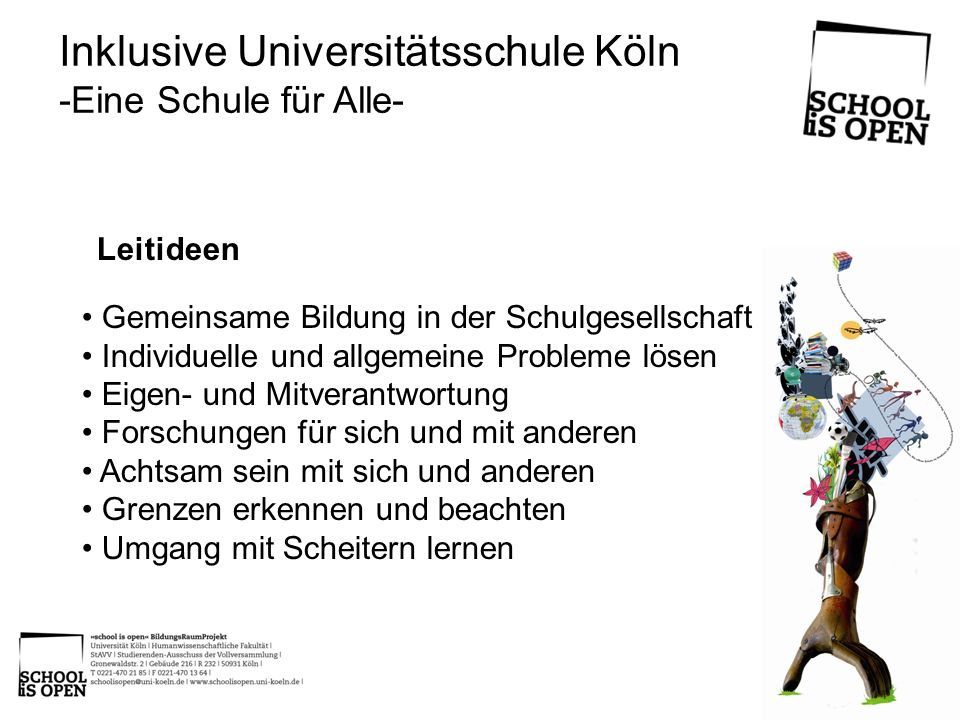 Inklusive Universitätsschule Köln
