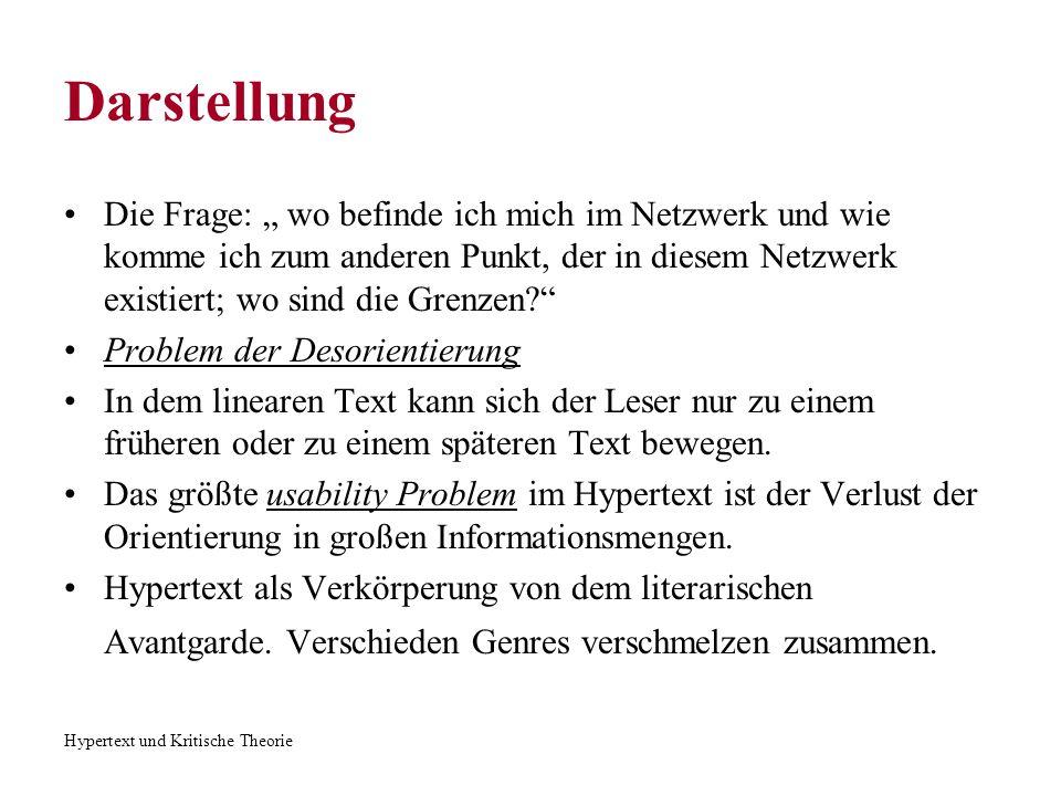 """Darstellung Die Frage: """" wo befinde ich mich im Netzwerk und wie komme ich zum anderen Punkt, der in diesem Netzwerk existiert; wo sind die Grenzen"""