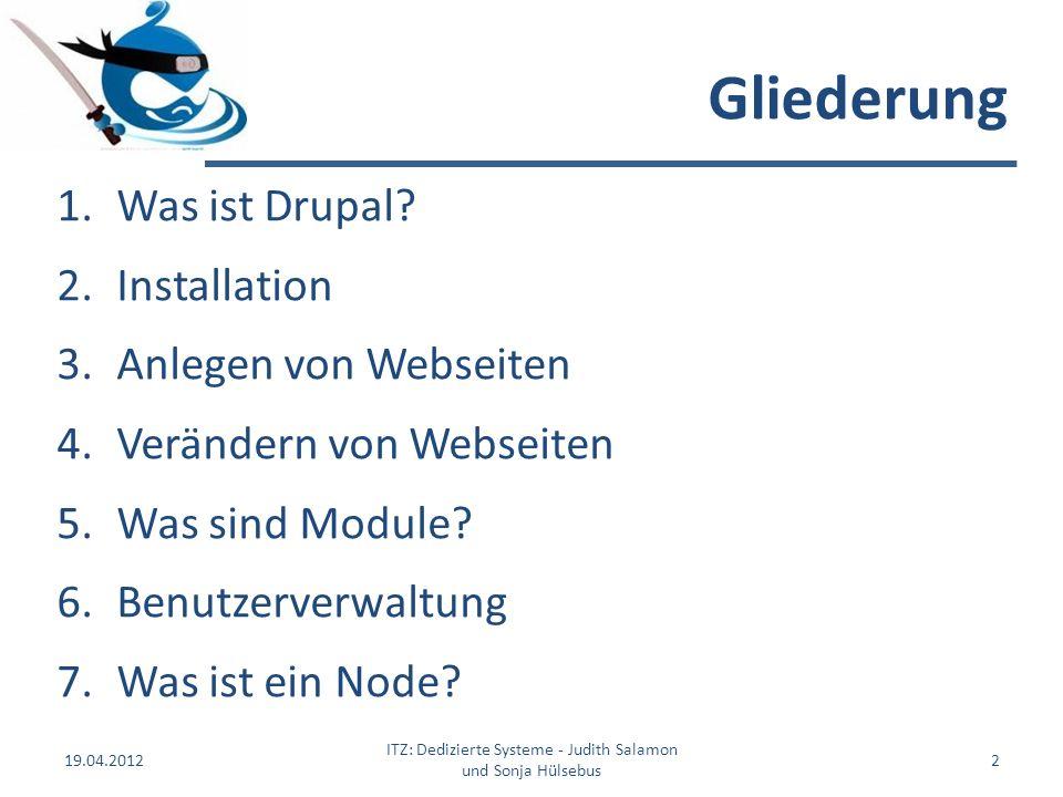 ITZ: Dedizierte Systeme - Judith Salamon und Sonja Hülsebus