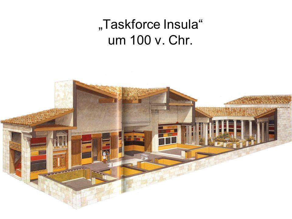 """Taskforce Insula um 100 v. Chr."