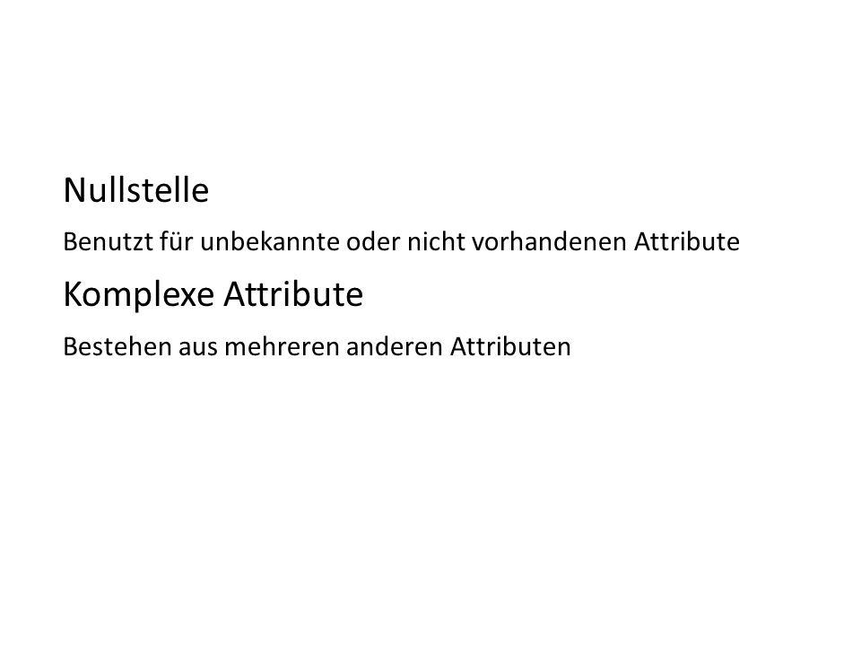 Nullstelle Komplexe Attribute
