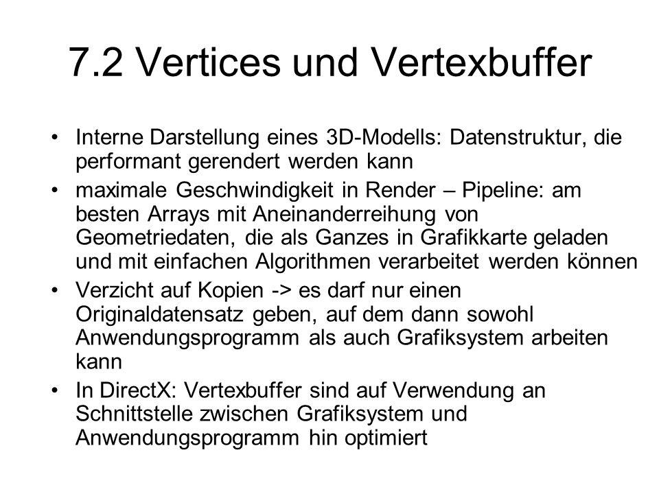 7.2 Vertices und Vertexbuffer