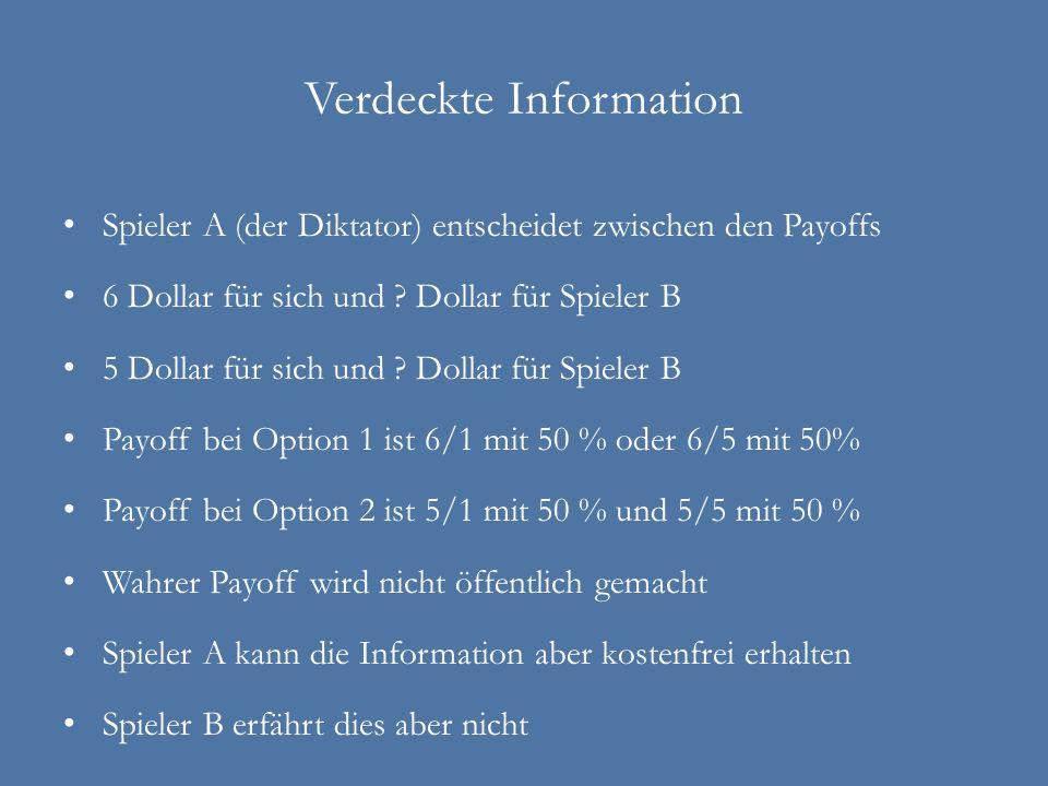 Verdeckte Information