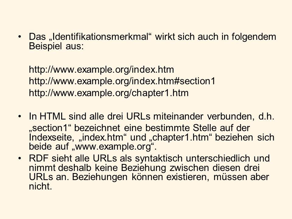 """Das """"Identifikationsmerkmal wirkt sich auch in folgendem Beispiel aus:"""