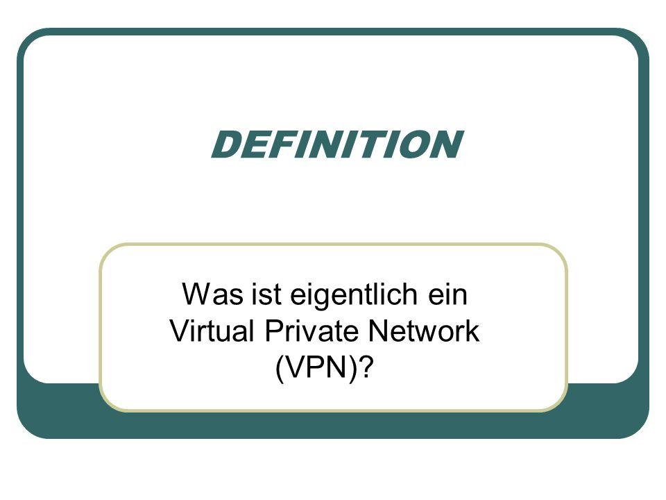 Was ist eigentlich ein Virtual Private Network (VPN)