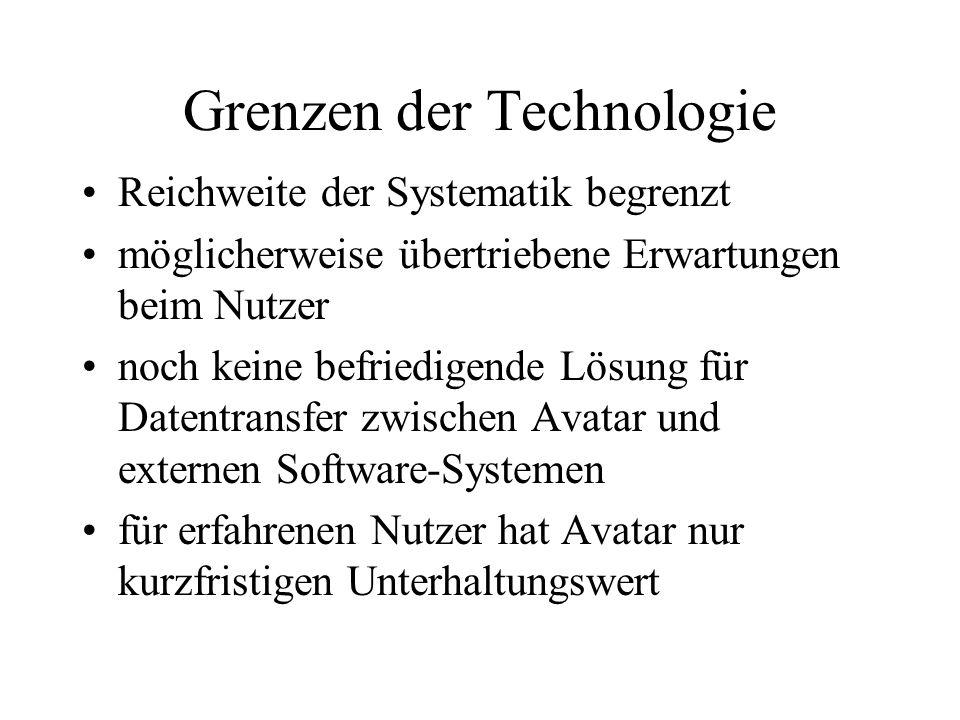 Grenzen der Technologie