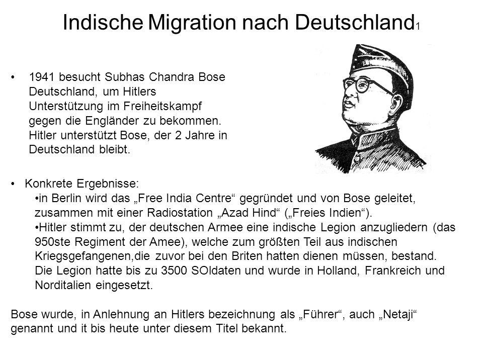 Indische Migration nach Deutschland1