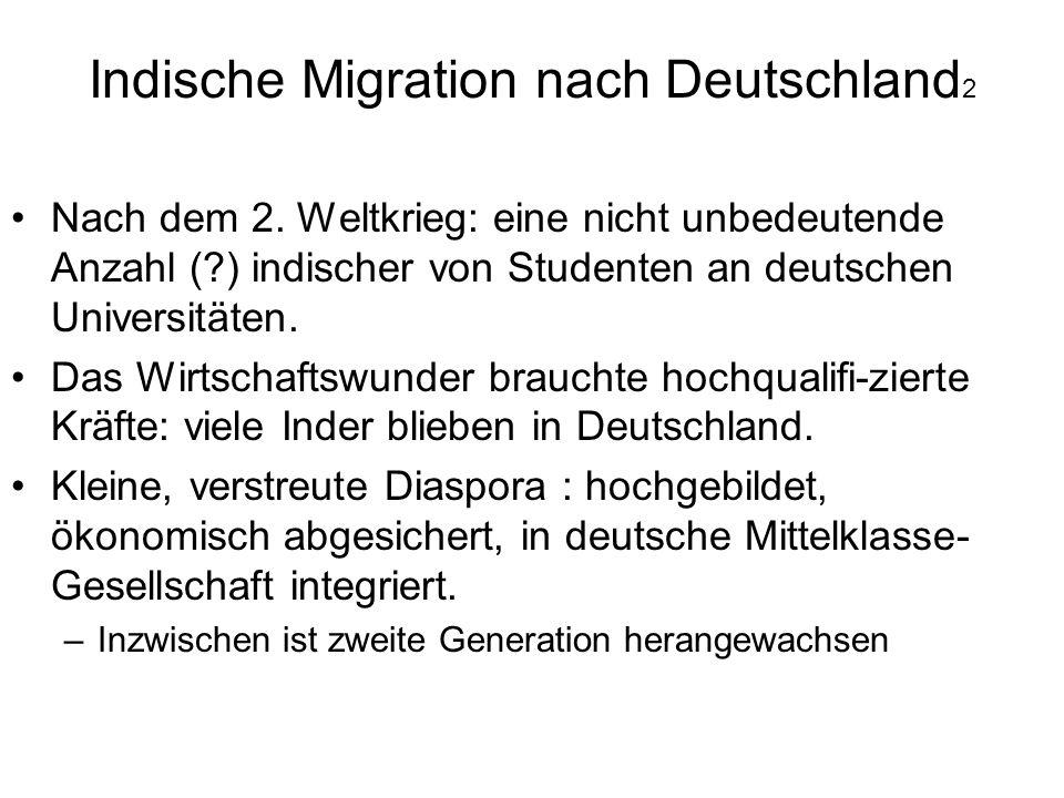 Indische Migration nach Deutschland2