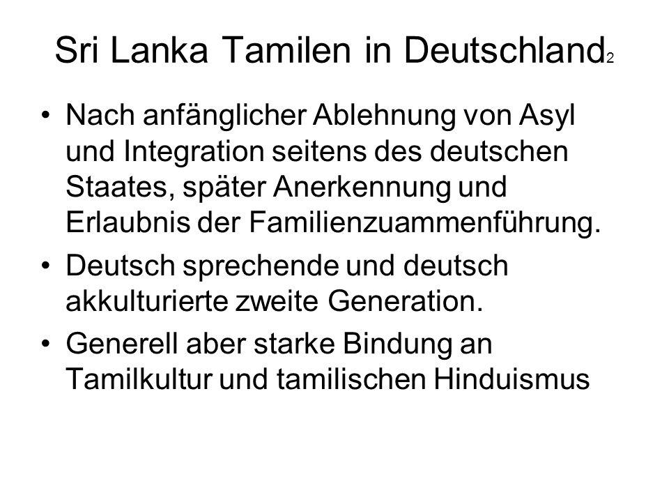 Sri Lanka Tamilen in Deutschland2