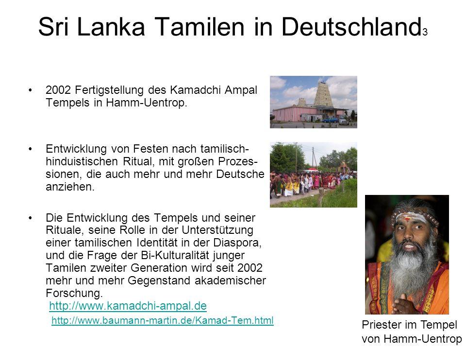 Sri Lanka Tamilen in Deutschland3