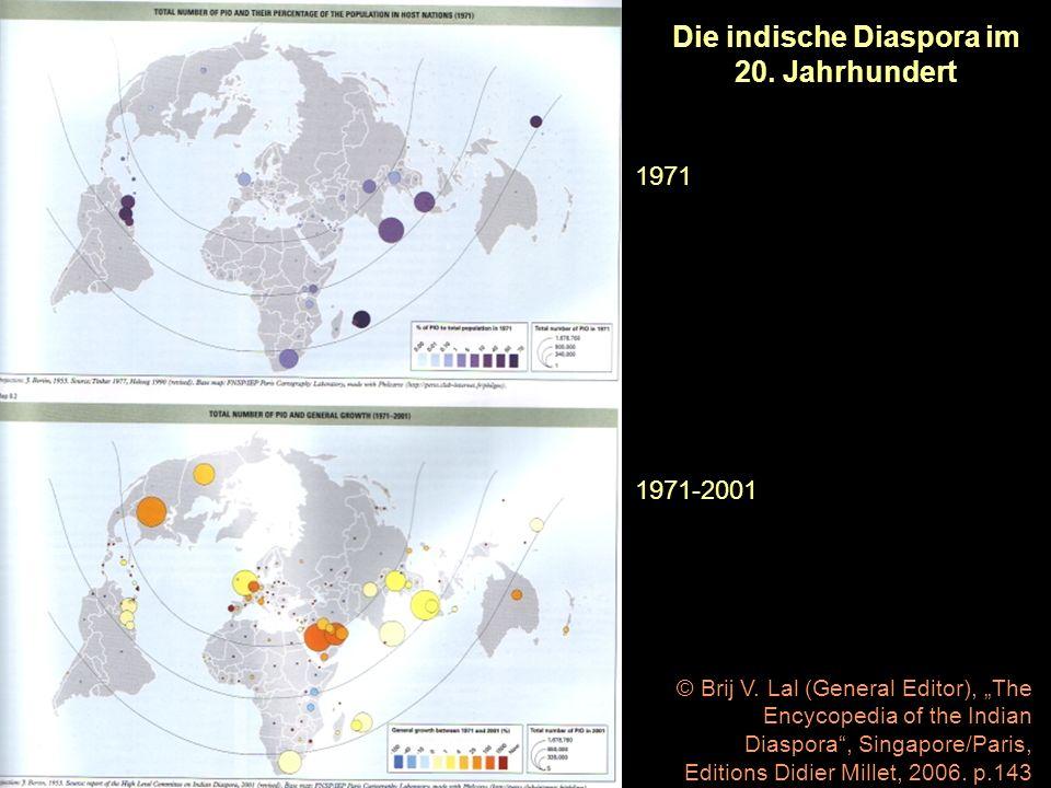 Die indische Diaspora im 20. Jahrhundert