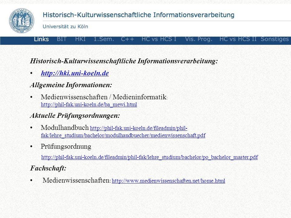 Historisch-Kulturwissenschaftliche Informationsverarbeitung: