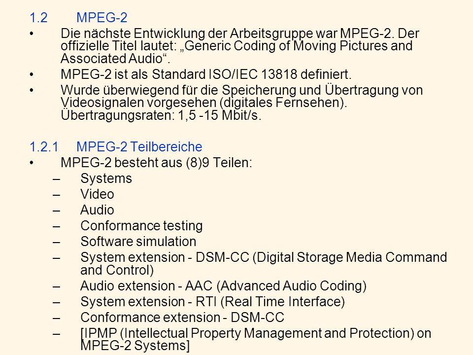 1.2 MPEG-2