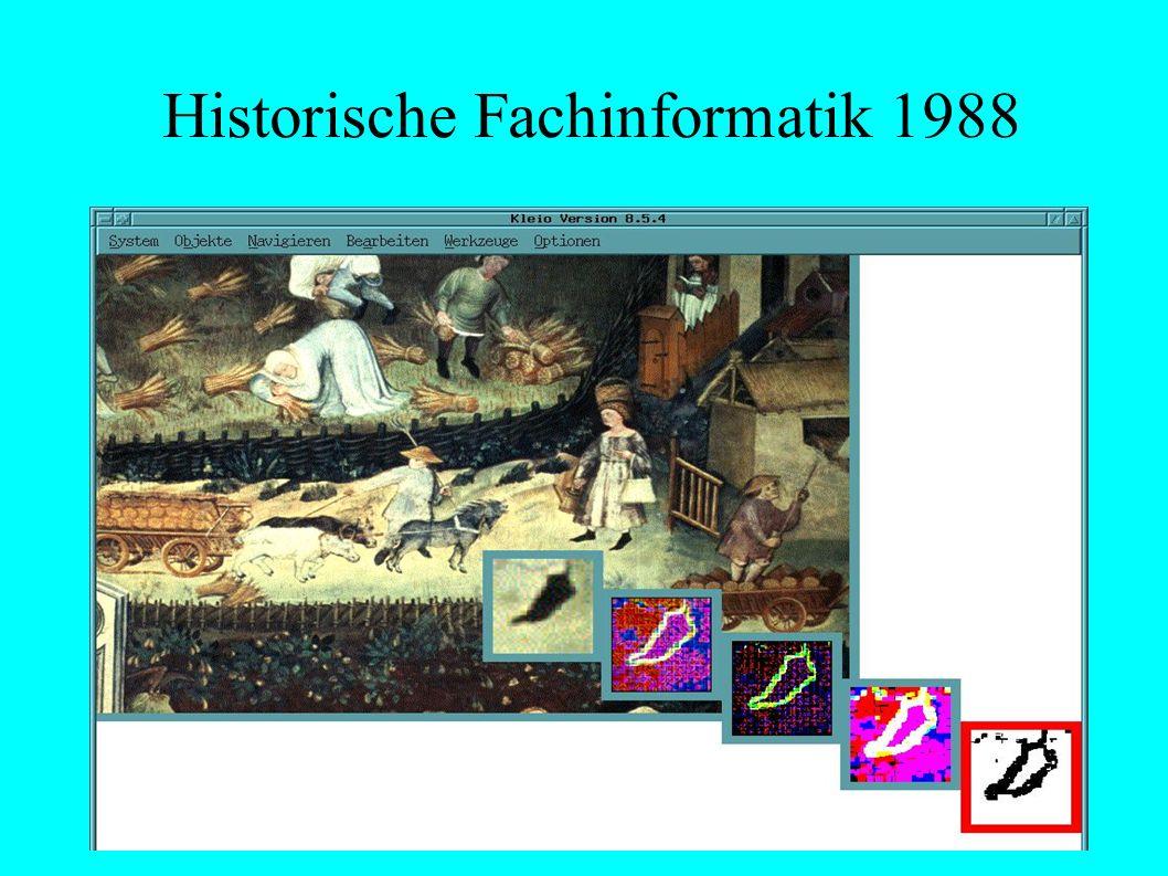 Historische Fachinformatik 1988