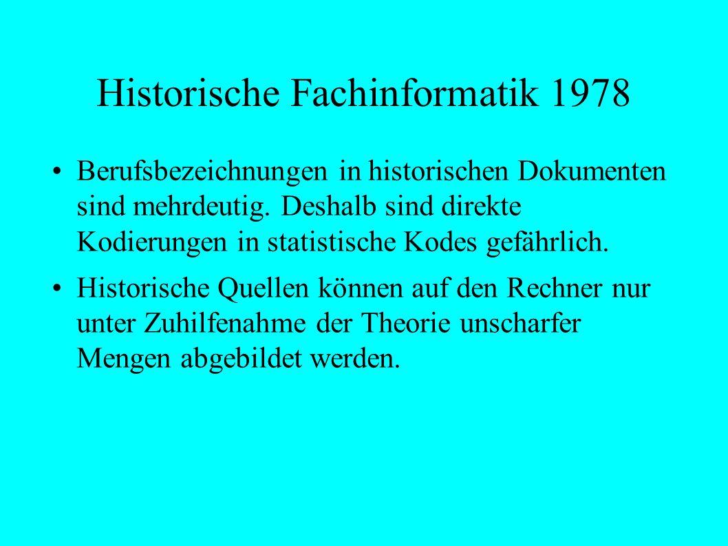 Historische Fachinformatik 1978