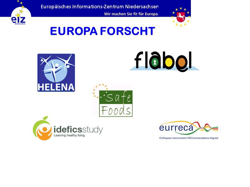EUROPA FORSCHT Helena: Arbeitsgemeinschaft – Forschung