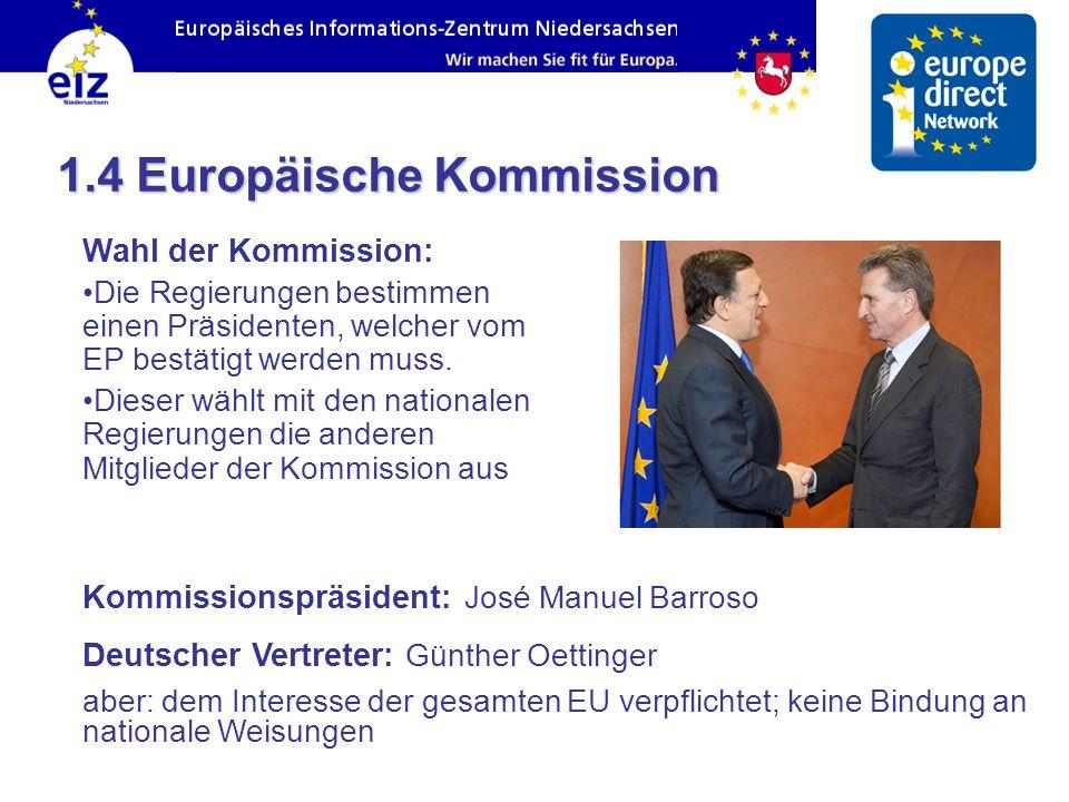 1.4 Europäische Kommission