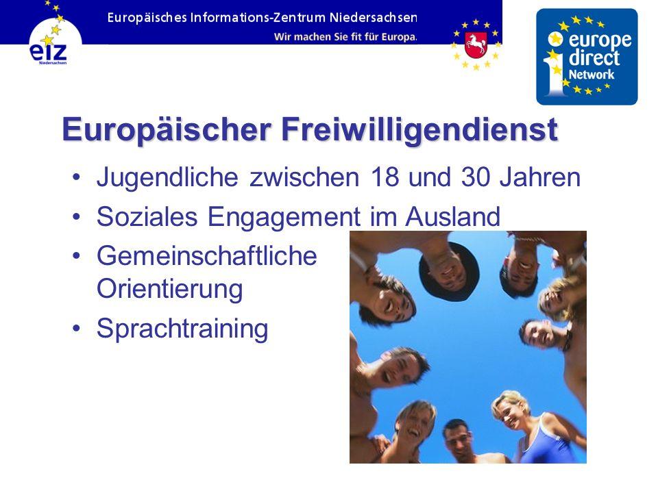 Europäischer Freiwilligendienst