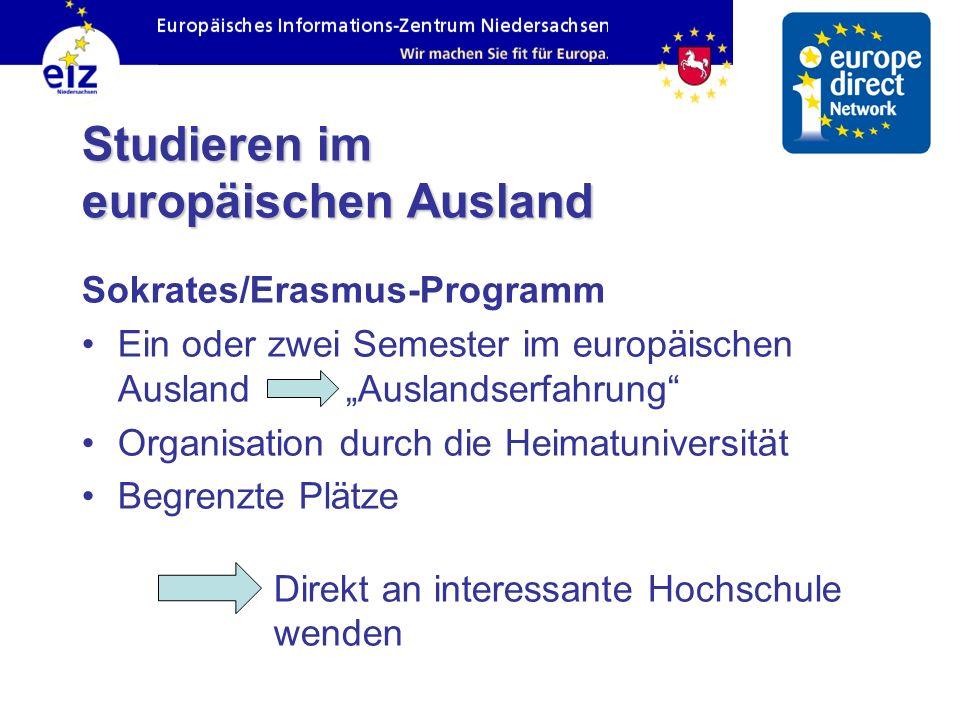 Arbeiten und studieren in der europ ischen union ppt for Studieren im ausland
