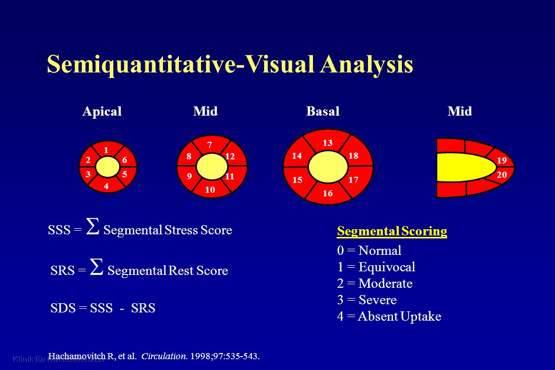 Semiquantitative-Visual Analysis