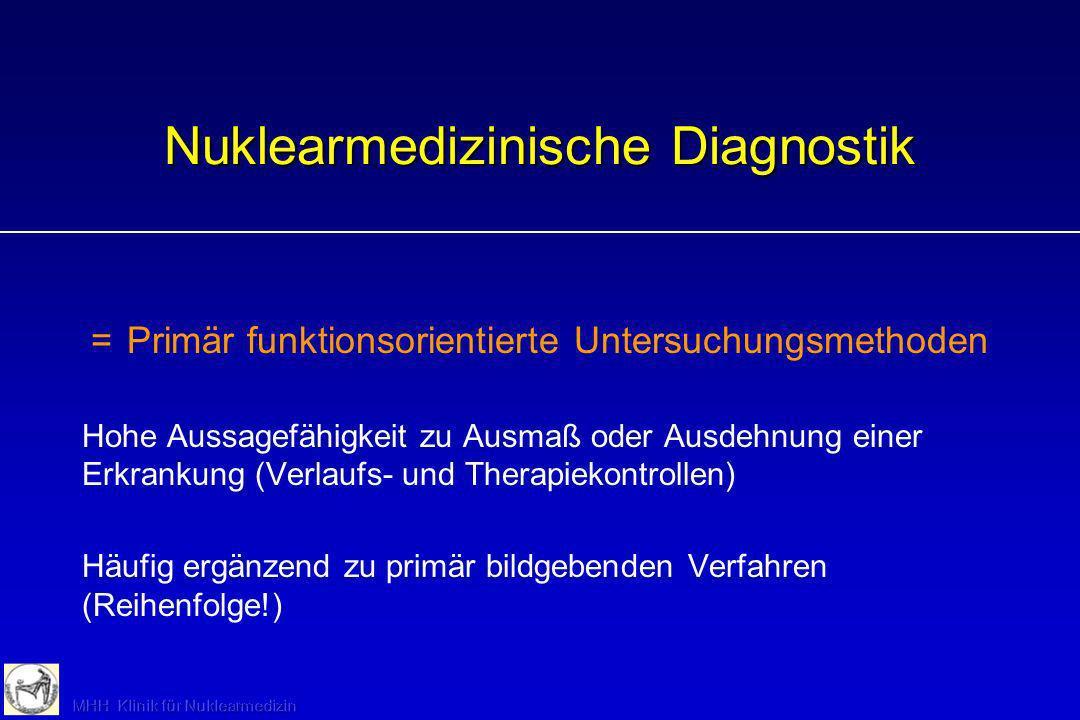 Nuklearmedizinische Diagnostik