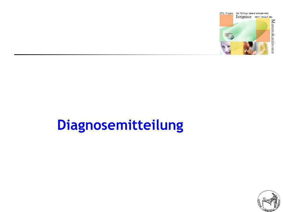 Diagnosemitteilung
