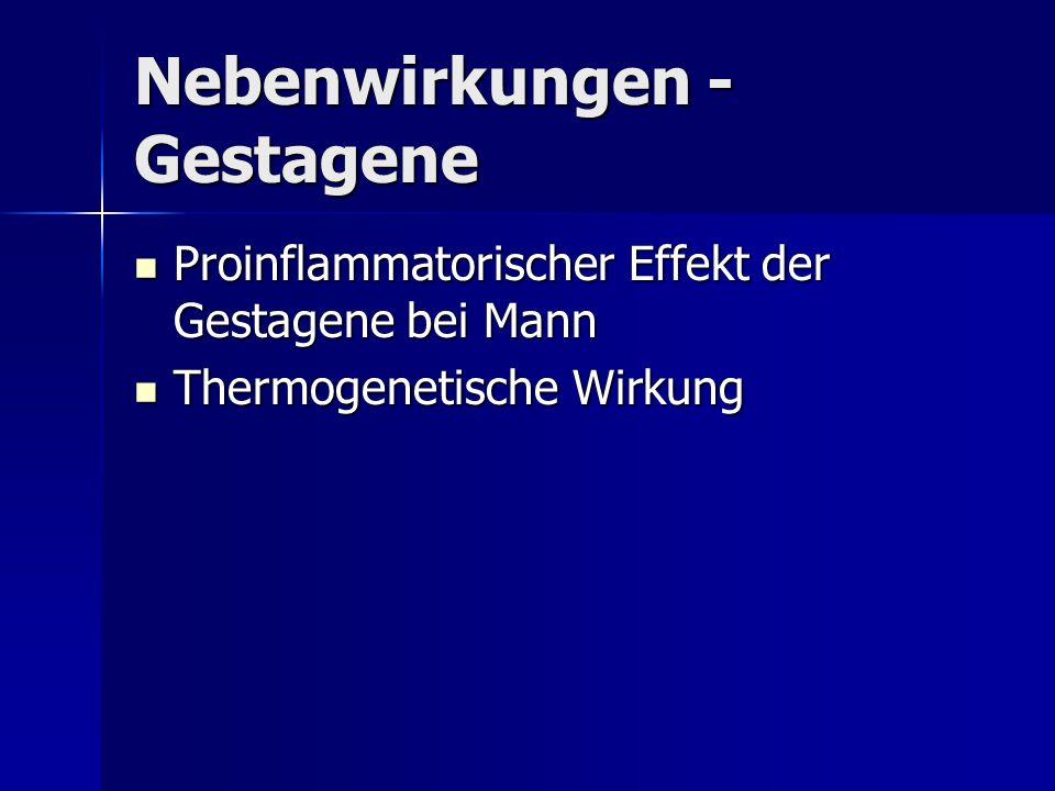Nebenwirkungen -Gestagene
