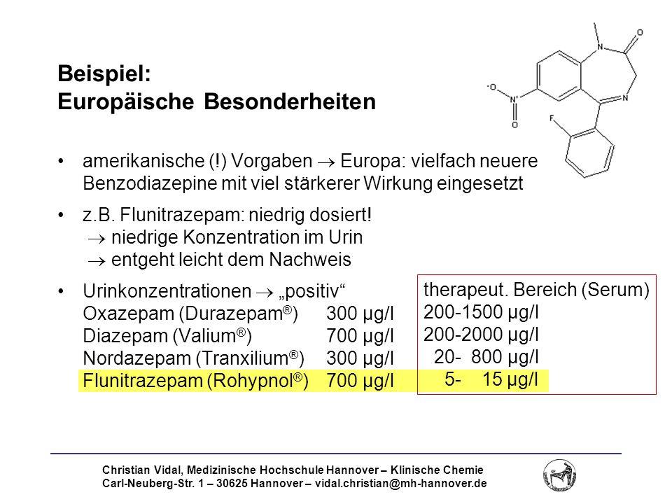 Beispiel: Europäische Besonderheiten