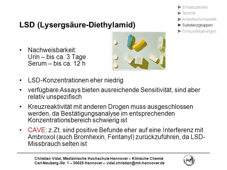 LSD (Lysergsäure-Diethylamid)