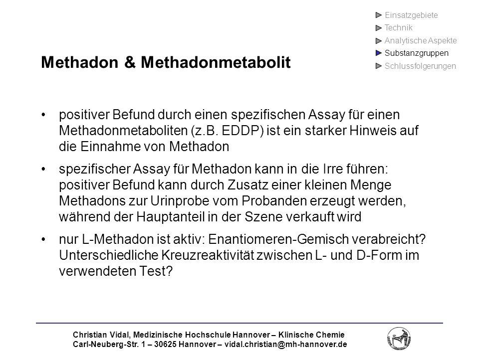 Methadon & Methadonmetabolit