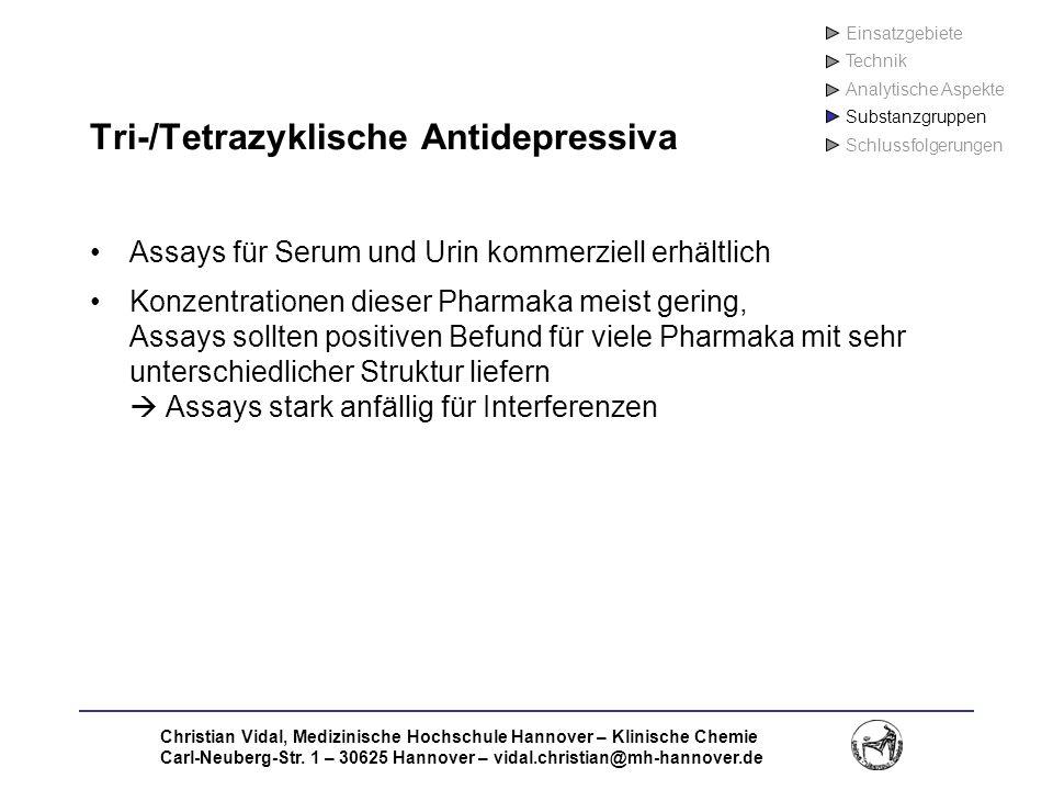 Tri-/Tetrazyklische Antidepressiva