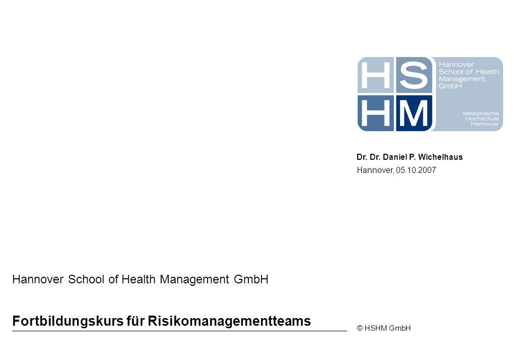 Fortbildungskurs für Risikomanagementteams
