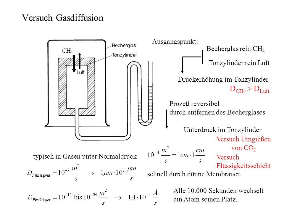 versuch löslichkeit von gasen in wasser