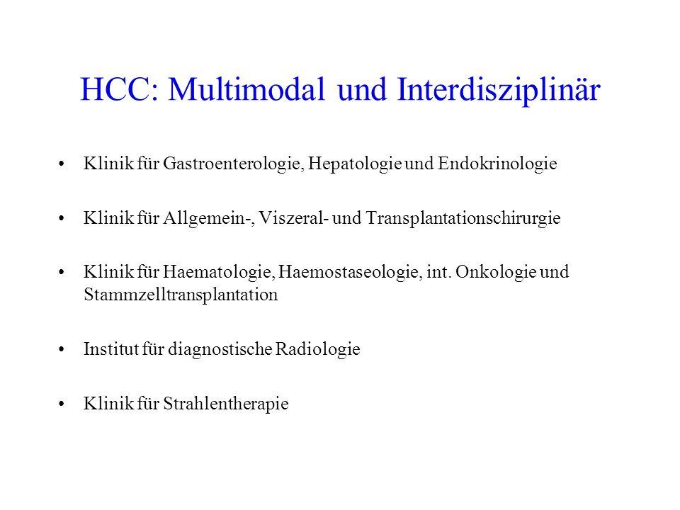 HCC: Multimodal und Interdisziplinär