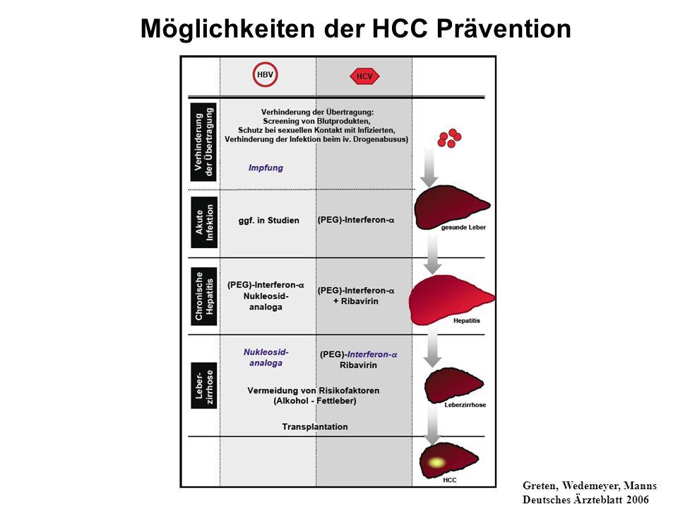 Möglichkeiten der HCC Prävention