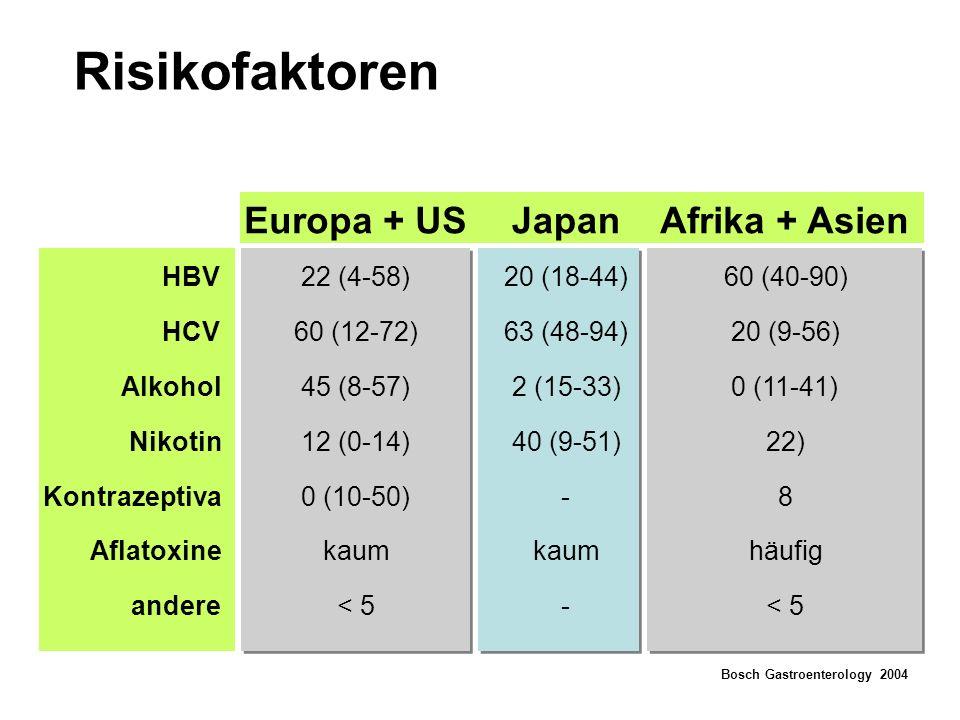 Risikofaktoren Europa + US Japan Afrika + Asien HBV 22 (4-58)