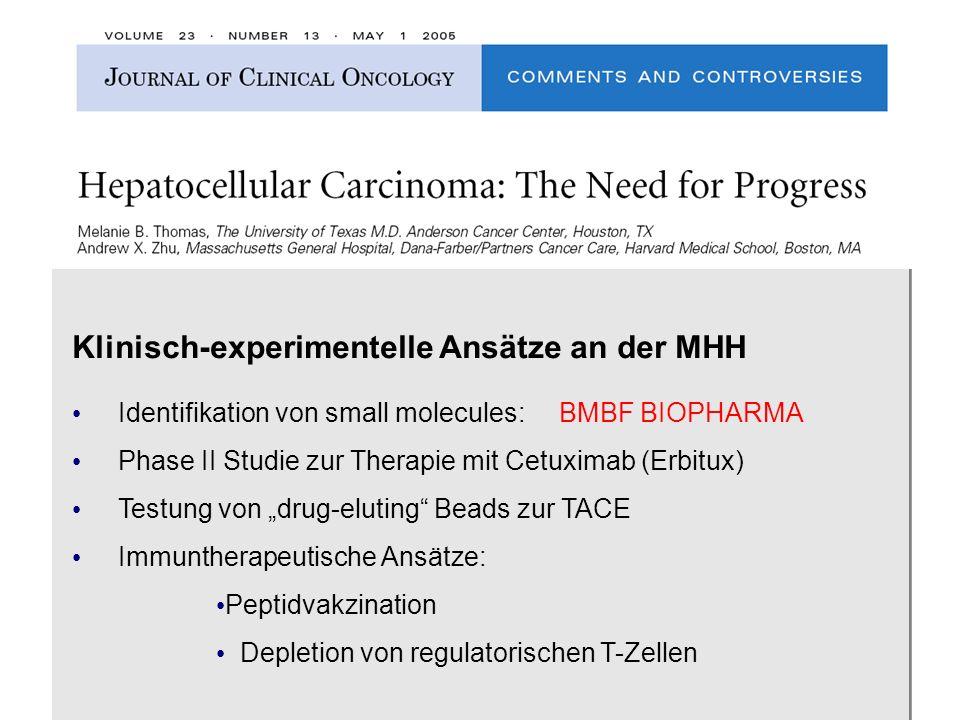 Klinisch-experimentelle Ansätze an der MHH