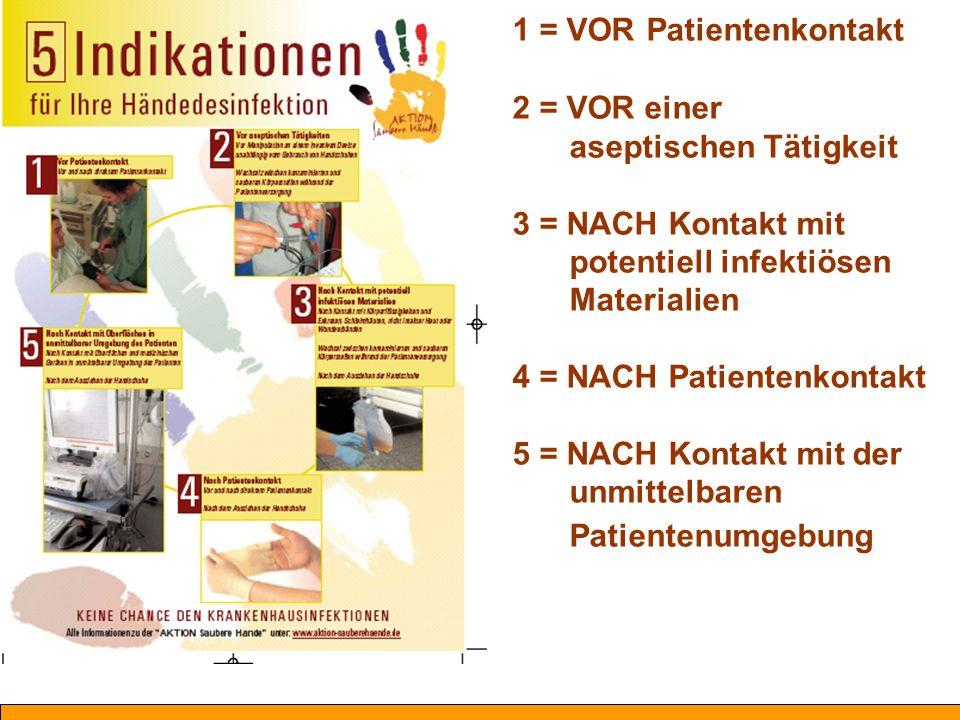 1 = VOR Patientenkontakt