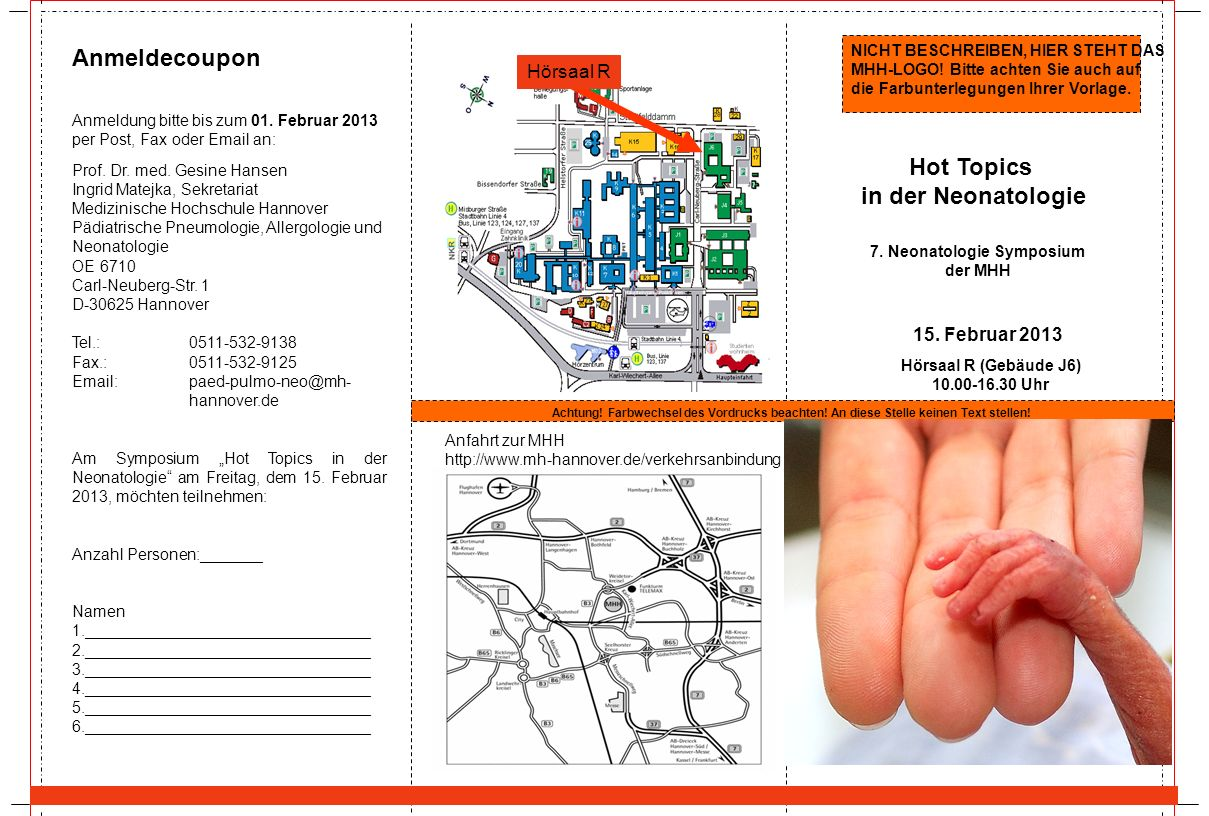 7. Neonatologie Symposium