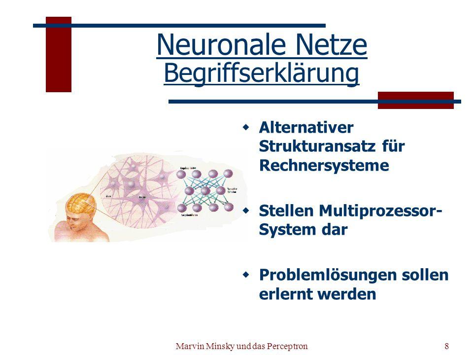 Neuronale Netze Begriffserklärung