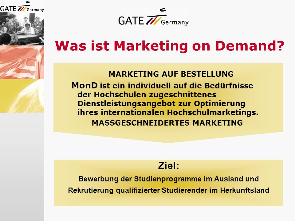 Was ist Marketing on Demand