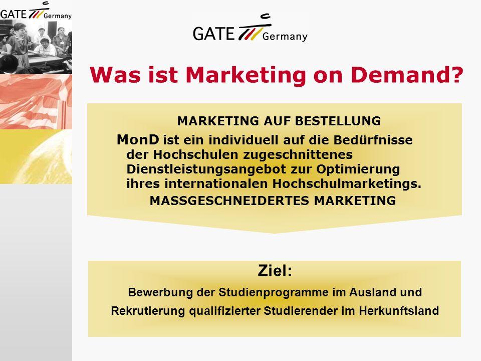 Was ist Marketing on Demand